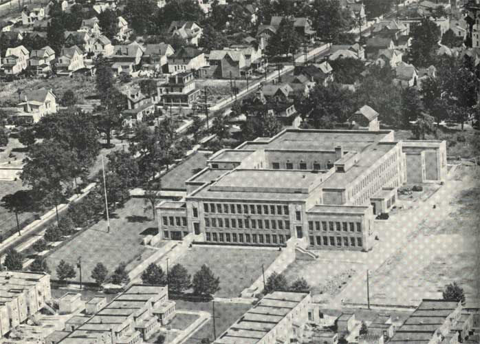 Woodrow Wilson High School 1939. Click on Image to Enlarge