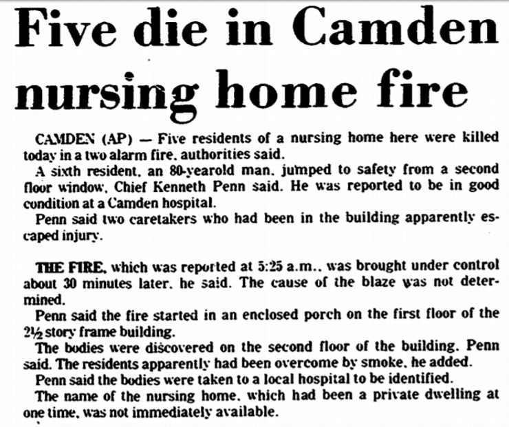Camden House Nursing Home