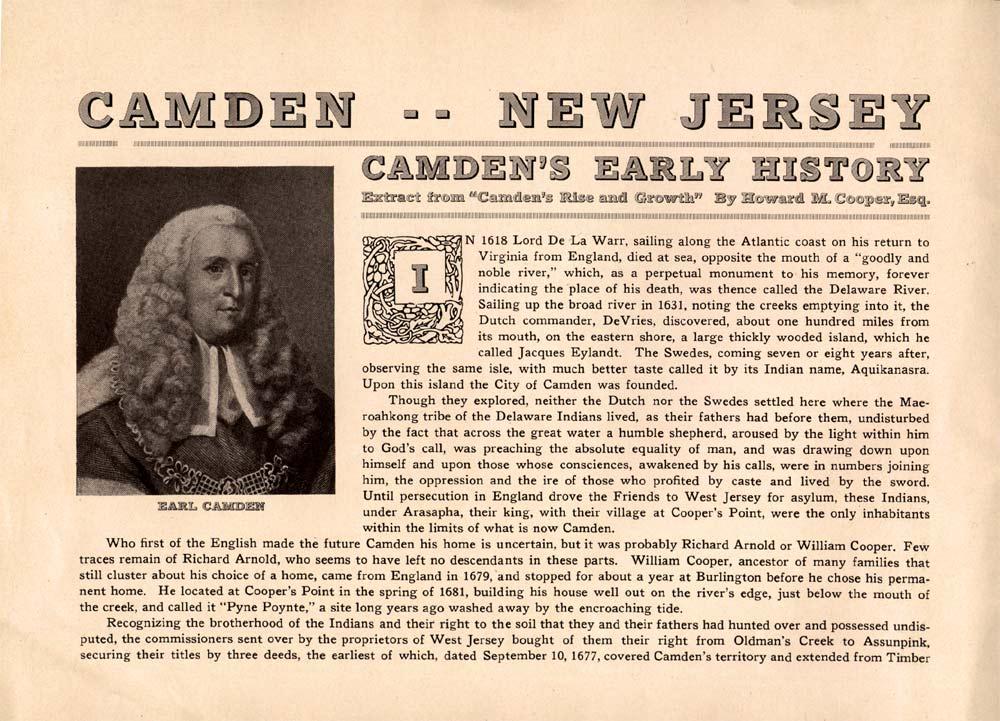 CAMDEN COUNTY NJ