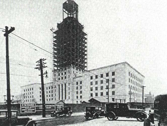 Camden New Jersey City Hall Clock Tower