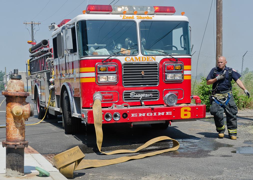Camden Fire Department - Another North Camden Brush Fire ...
