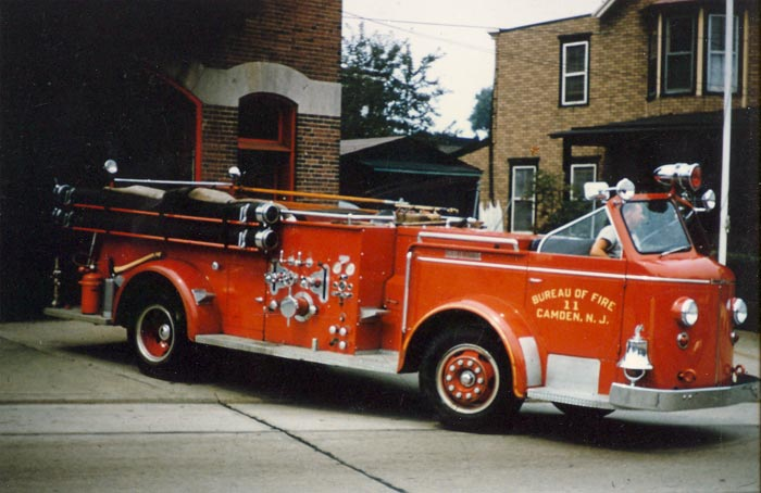 Camden Fire Department - Engine Company 11 on