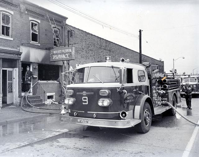 Camden Fire Department Engine Company 9