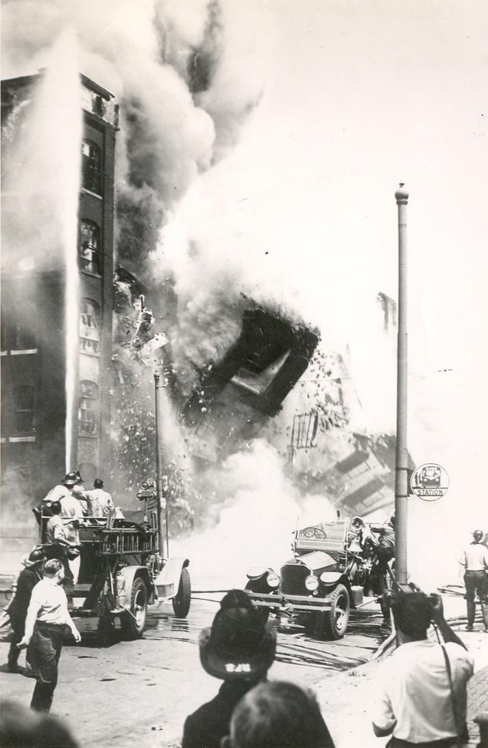 Camden Nj The Hollingshead Fire July 1940