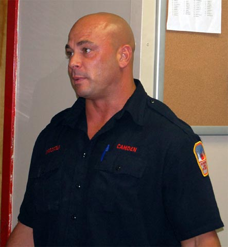 Chris Gonzalez Firefighter