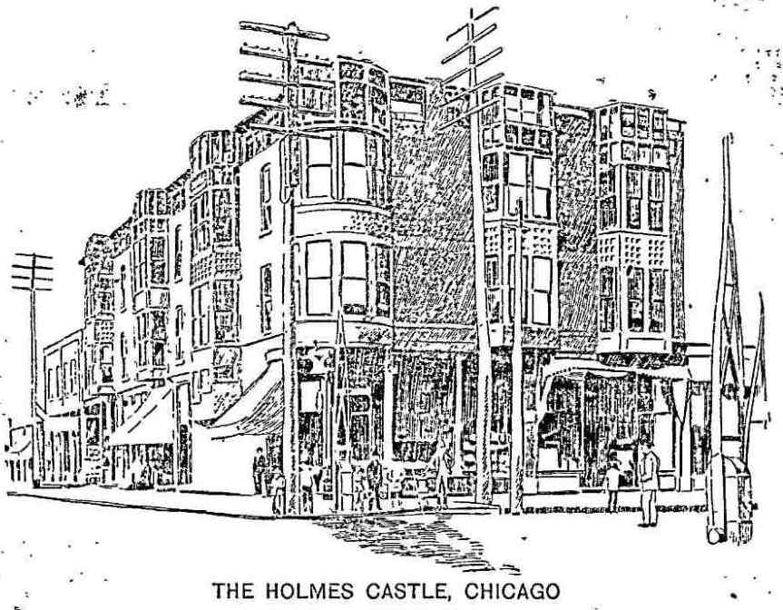 H H Holmes Herman Webster Mudgett And The Murder Castle The