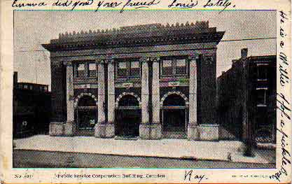 Postcard Images Of Camden Libraries