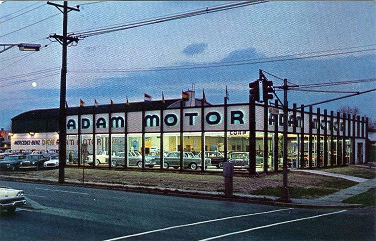 Black Horse Motors >> POSTCARD IMAGES of CAMDEN - Car Dealers