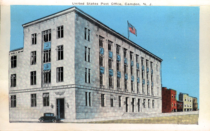 CAMDEN NJ - A History of Post Offices in Camden
